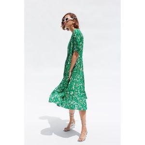 Zara Midi Floral Dress